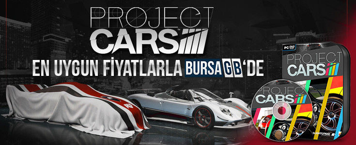 Project Cars En Cazip Fiyatlarla BursaGB 'de