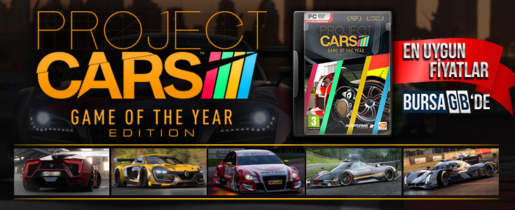 Project Cars: Game Of The Year Edition Çıktı Cazip Fiyatlarla Satın Al