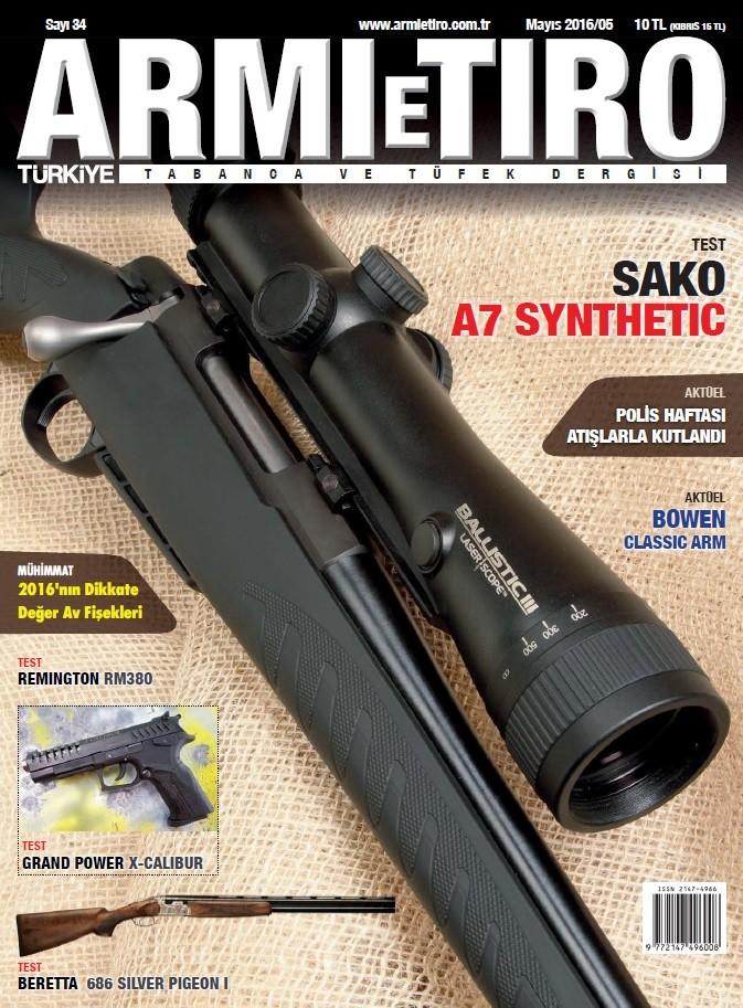 Armi e Tiro Mayıs E-dergi indir Sandalca.com