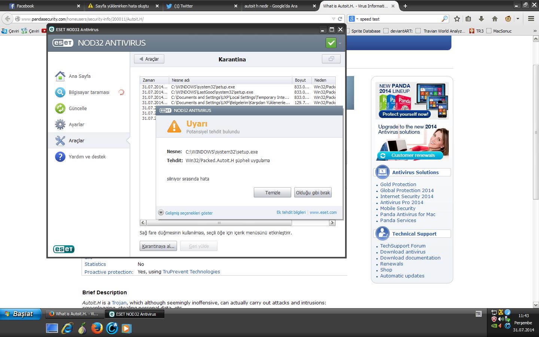 Antivirusun değiştirilmesi: McAfeeyi bir dizüstü bilgisayardan kaldırma
