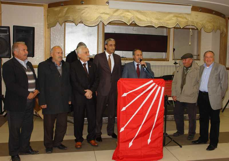 CHP Gölbaşı Plaket Töreni