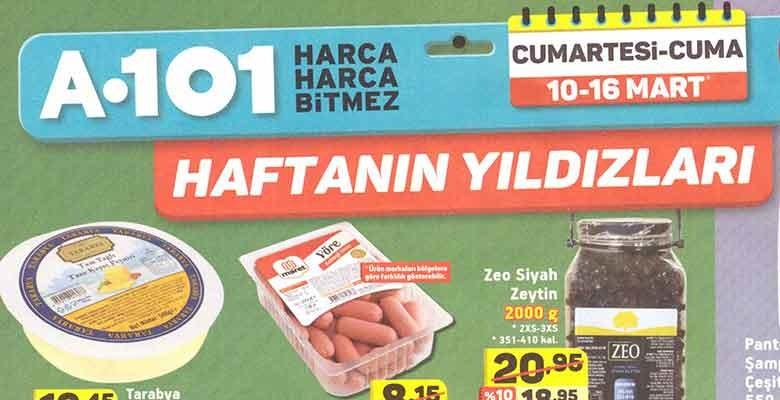 A101 10-16 Mart İndirimli Aktüel Ürünler Kataloğu