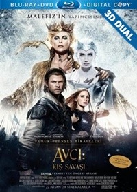 Avcı: Kış Savaşı 3D – 3D The Huntsman: Winter's War 2016 EXTENDED 3D HALF-SBS BluRay 1080p DUAL TR-EN – Tek Link