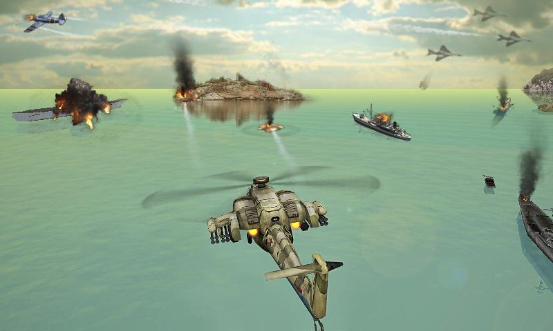 Helikopter Saldırısı 3D mod hile