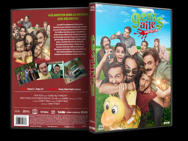 Geniş Aile Yapıştır 2015 DVD-5 Yerli Film – Tek Link