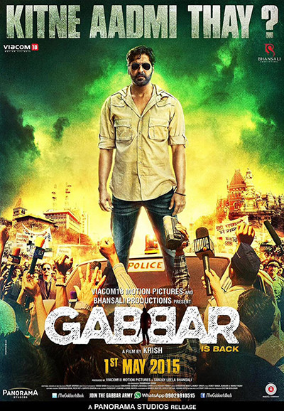 Gabbar is Back (2015) DVDRip 720p Türkçe Altyazı Download Yükle İndir