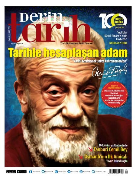 Derin Tarih Mayıs 2016 PDF Dergi indir