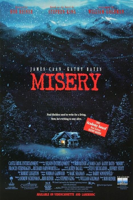 Ölüm Kitabı - Misery 1990 - türkçe dublaj film indir