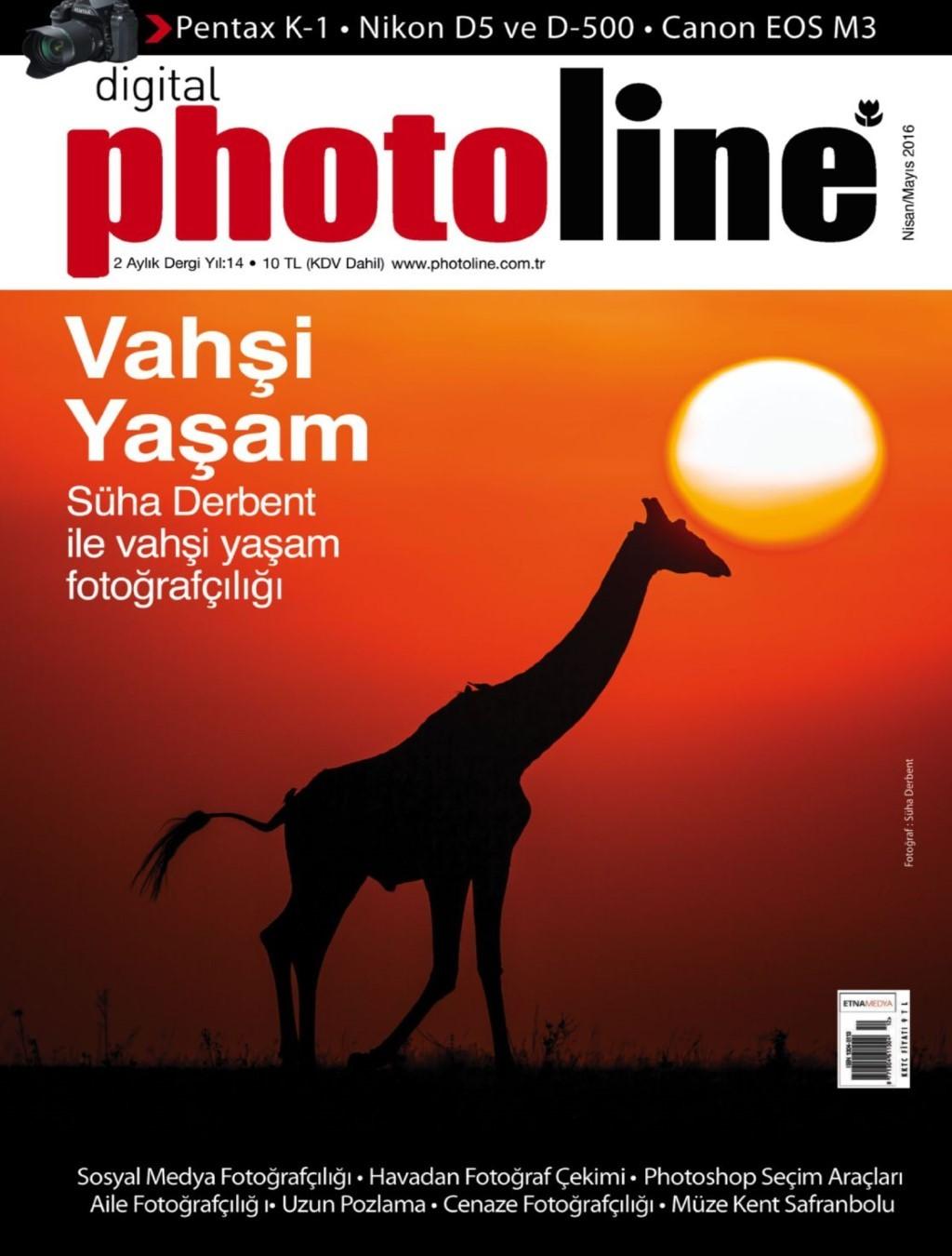 Photoline Nisan - Mayıs E-dergi indir Sandalca.com