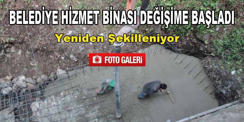 �aml�hem�in Belediye Binas� Onar�l�yor