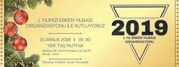 İzmir Kadın Muhasebeciler Derneği 1. Kuruluş Yıl Dönümlerini