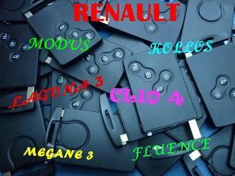 Renault Kartlı Anahtar