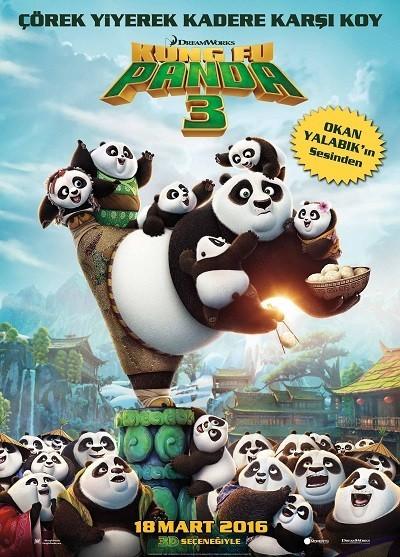 Kung Fu Panda 3   2016   BRRip XviD   Türkçe Dublaj