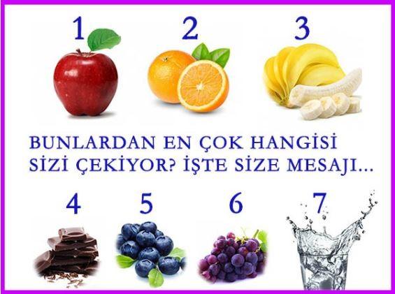 Bu Besinlerden Hangisi İlginizi Çekiyor?