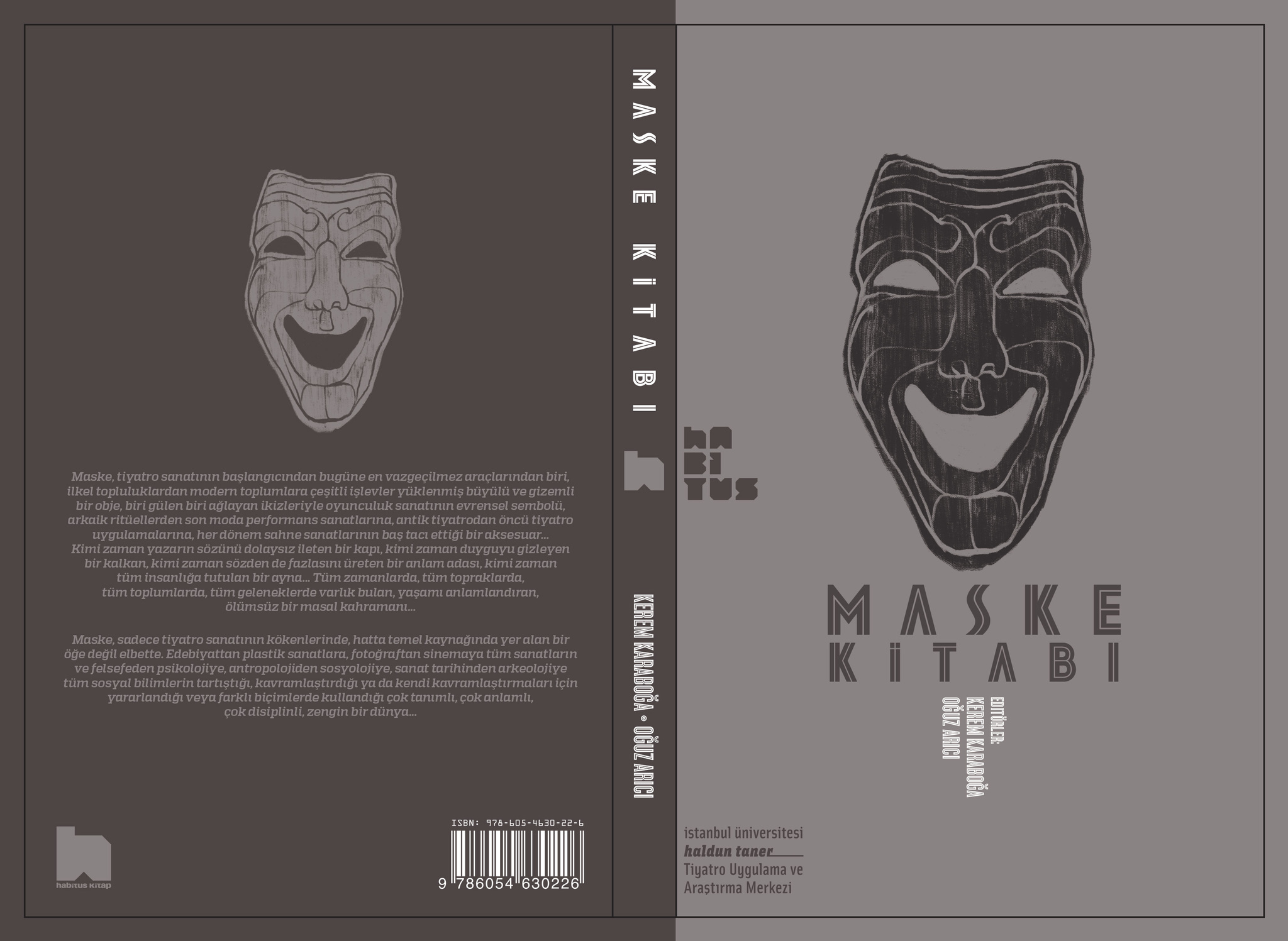 Maske Kitap Kapağı