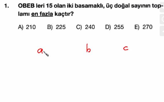 Ekol Hoca'nın Matematik Dersleri