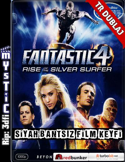 Fantastik 4: Gümüş Sörfçü'nün Yükselişi – 4: Rise of the Silver Surfer (2007) (ANAMORPHIC Siyah Bantsız BluRay m1080p) Türkçe Dublajlı full indir