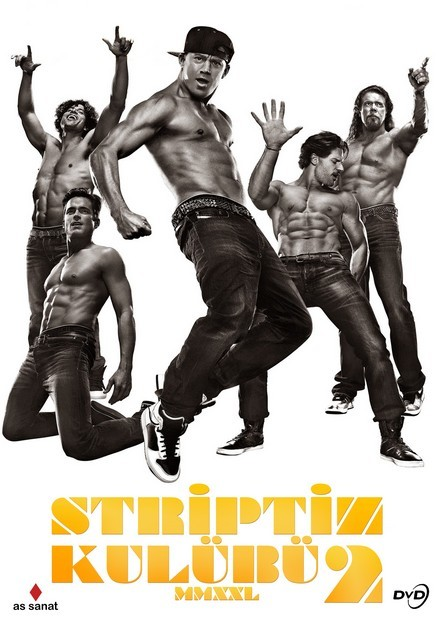 Striptiz Kulübü 2 – Magic Mike XXL 2015 BRRip XviD Türkçe Dublaj – Tek Link