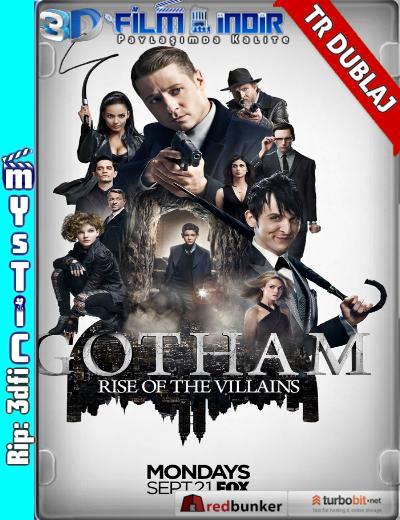 Gotham (2014–) 2. Sezon İlk 10 Bölüm ( 720p WEBDL ) Türkçe Dublaj 3dfi dizi indir