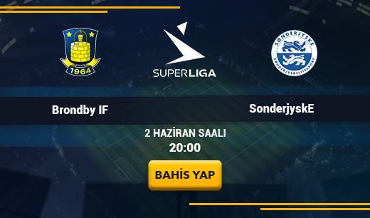 Brondby IF vs SonderjyskE - Canlı Maç İzle