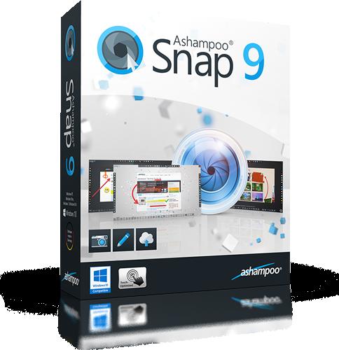 Ashampoo Snap 9.0.5 Final | Katılımsız