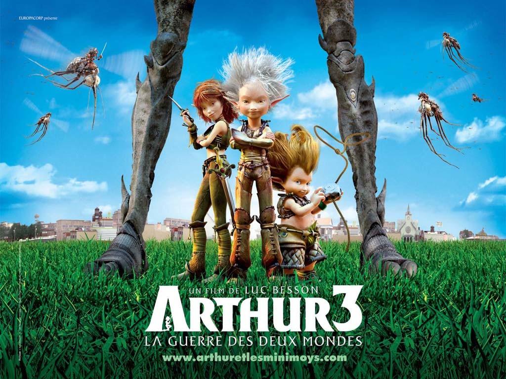 Arthur 3: İki Dünyanın Savaşı / 2010 / Tr Dublaj / Online Animasyon Film İzle