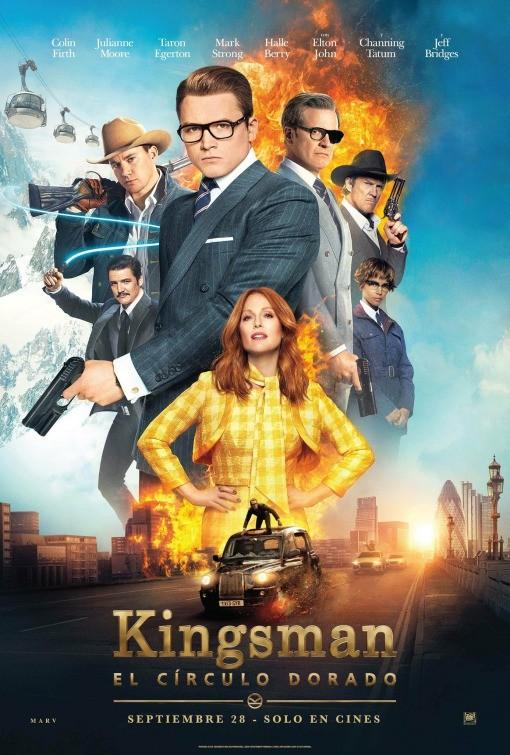 Kingsman: Altın Çember Türkçe Dublaj izle – Tek Parça