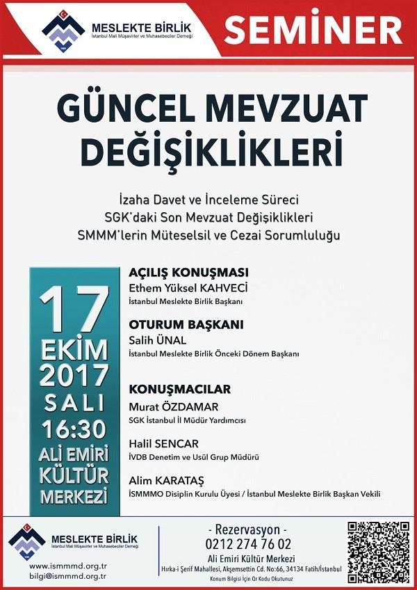 İstanbul Meslekte Birlikten;
