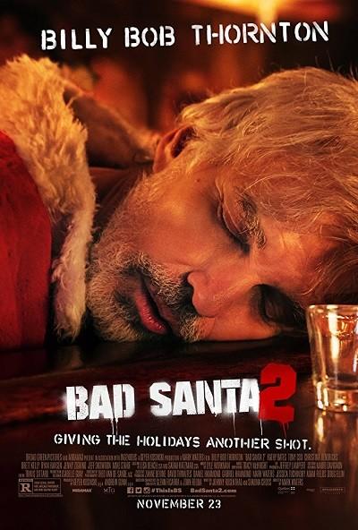 Yeni Yıl Şarkısı 2 – Bad Santa 2 2016 (BDRip XviD) Türkçe Dublaj Film indir