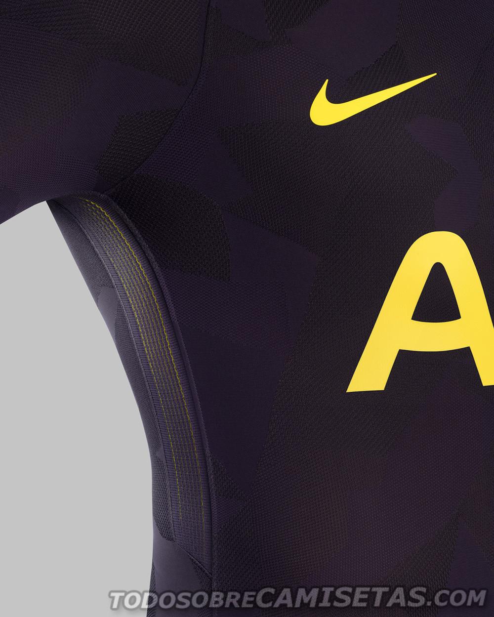 Tottenham 2017 18 Third Nike 2