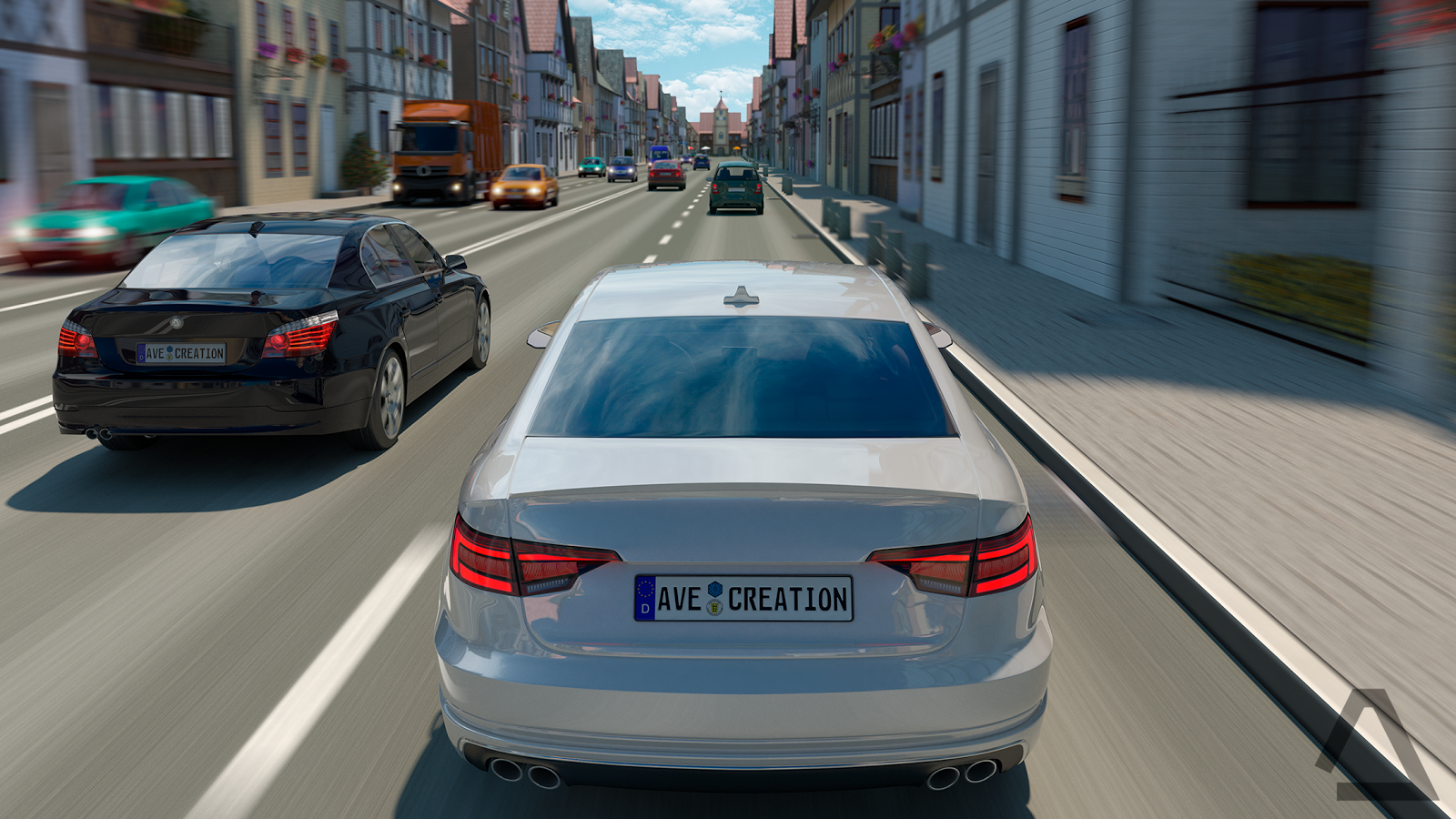 Driving Zone: Germany Apk Mod