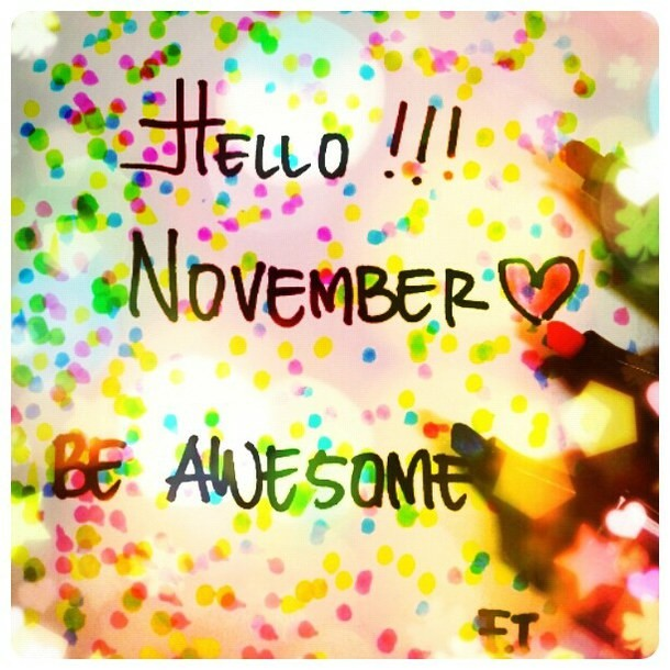 Salam Noyabr - Hello November