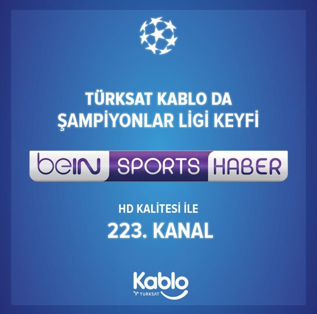Bein Sports Haber Digitürkte kaçıncı kanalda yer alıyor İşte Bein Sports Haber frekans bilgileri 83