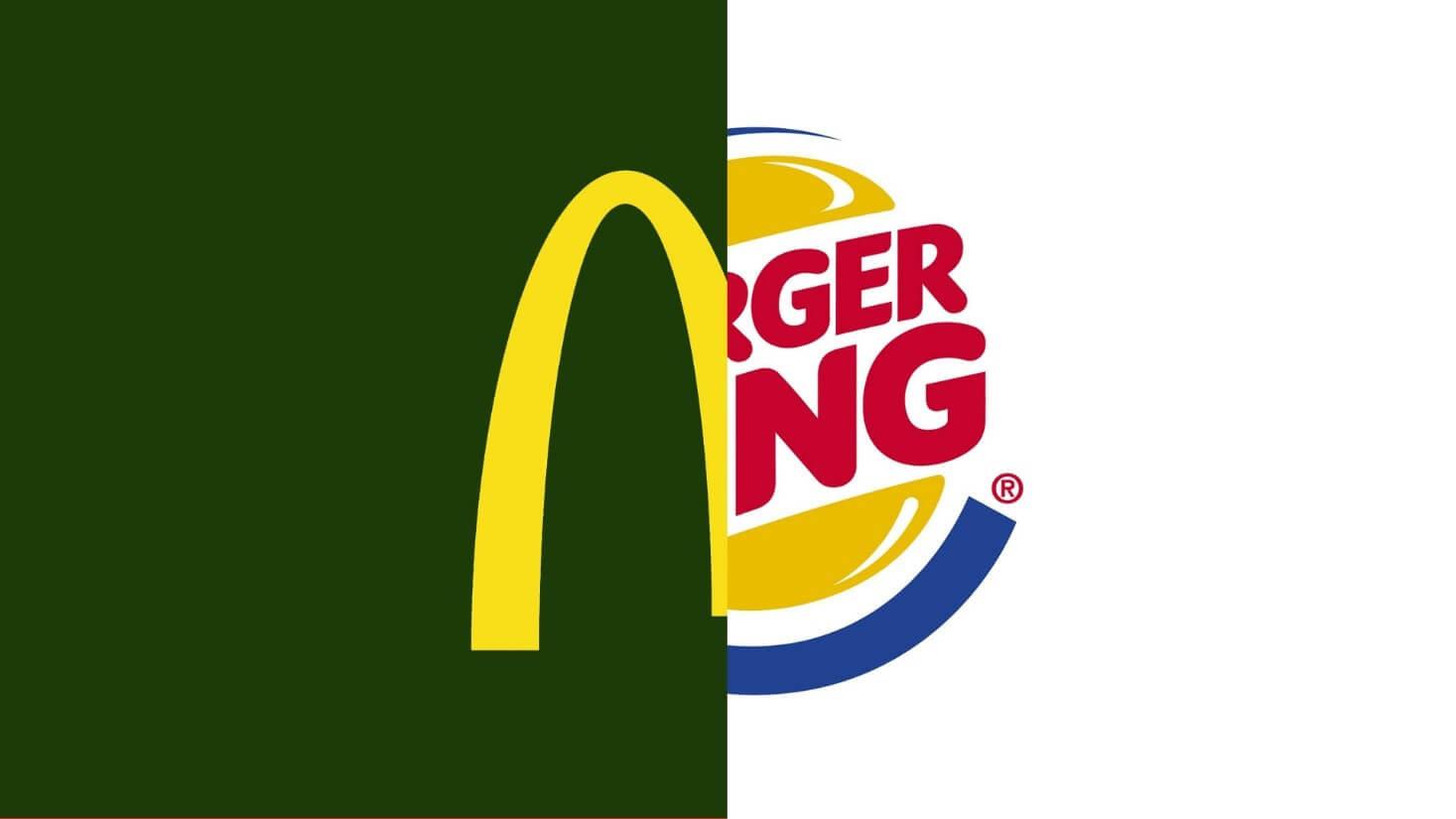 mc donalds ve burger king