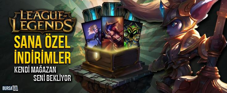 League Of Legends Sana Özel Mağaza Açıldı