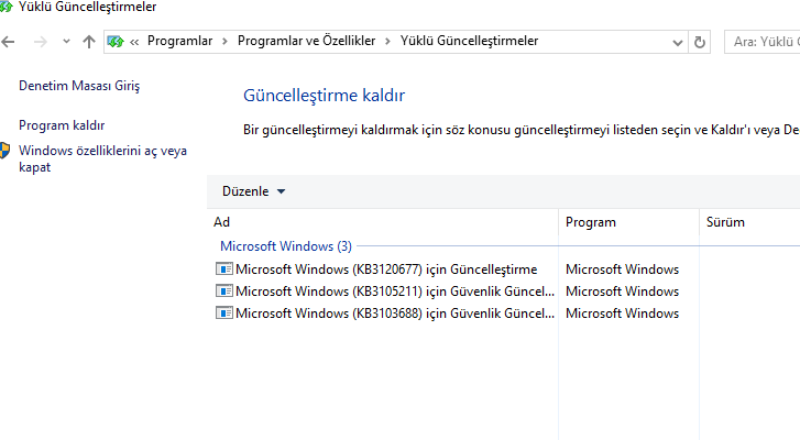 Windows 10 1511 |16In1 | Türkçe