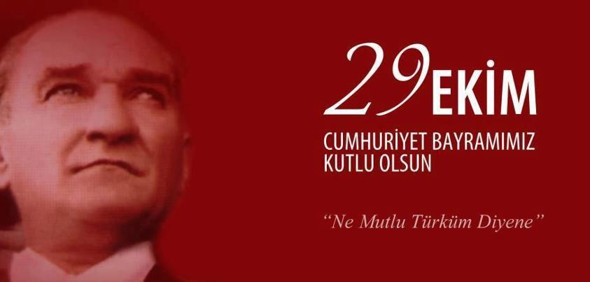 29 Ekim Cumhuriyet Bayraminiz Kutlu Olsun