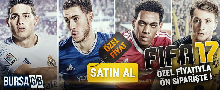 FIFA 17 Cd Key İnanılmaz Fiyatıyla BursaGB'de !