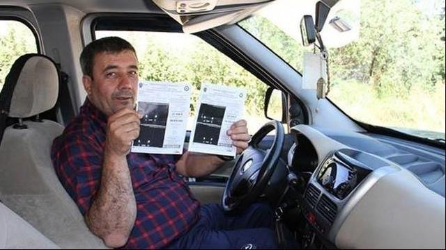 600 Lira Radar Cezası Yedi