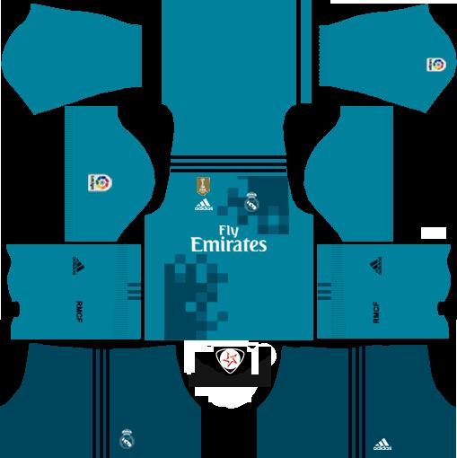 Beliebt 2017-2018 Real Madrid Kits and Logo - DLS 17/16 - FTS – dlsftskit  CN61