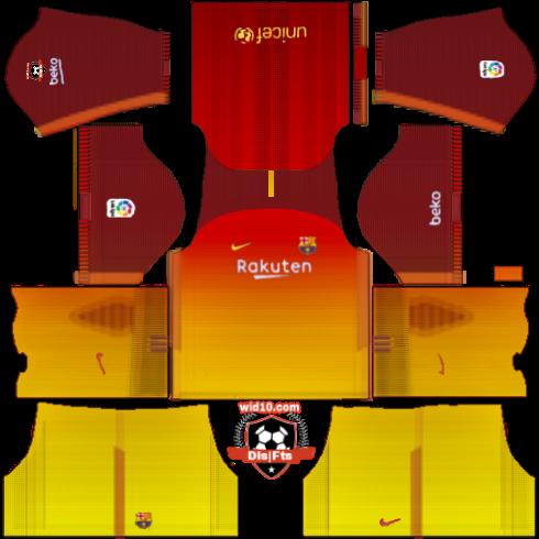 barcelona fantastik dls17 fts 17 18 yeni sezon forma kits ve logo url yeni wid10 com
