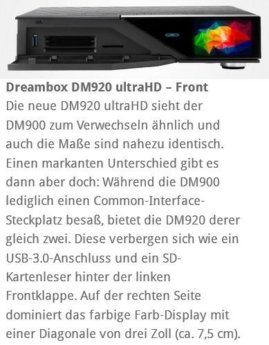 Dreambox 920