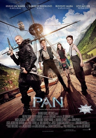 Pan 3D 2015 3D BluRay 1080p DUAL TR-EN - Tek Link indir