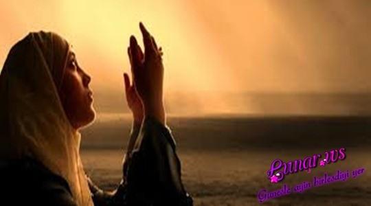 Allahım! Bu duamızı sənə çatan dualardan et!