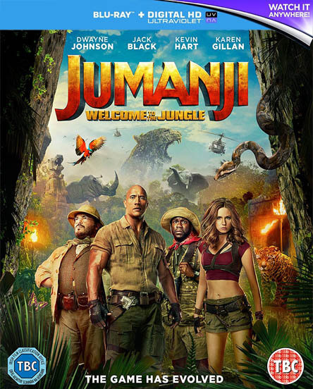 Jumanji  Welcome to the Jungle - 2017 ( Bluray 1080p ) TR/ENG