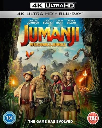 Jumanji: Vahşi Orman 2017 (UHD 4K) DuaL TR-ENG - okaann27