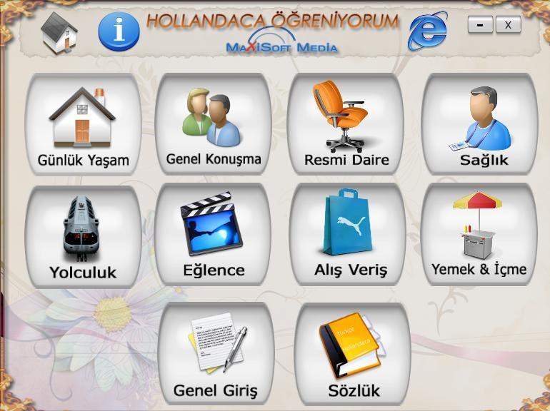 Hollandaca Eğitim Seti Türkçe
