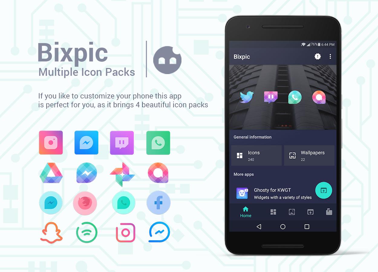 Bixpic - Icon Packs Apk İndir