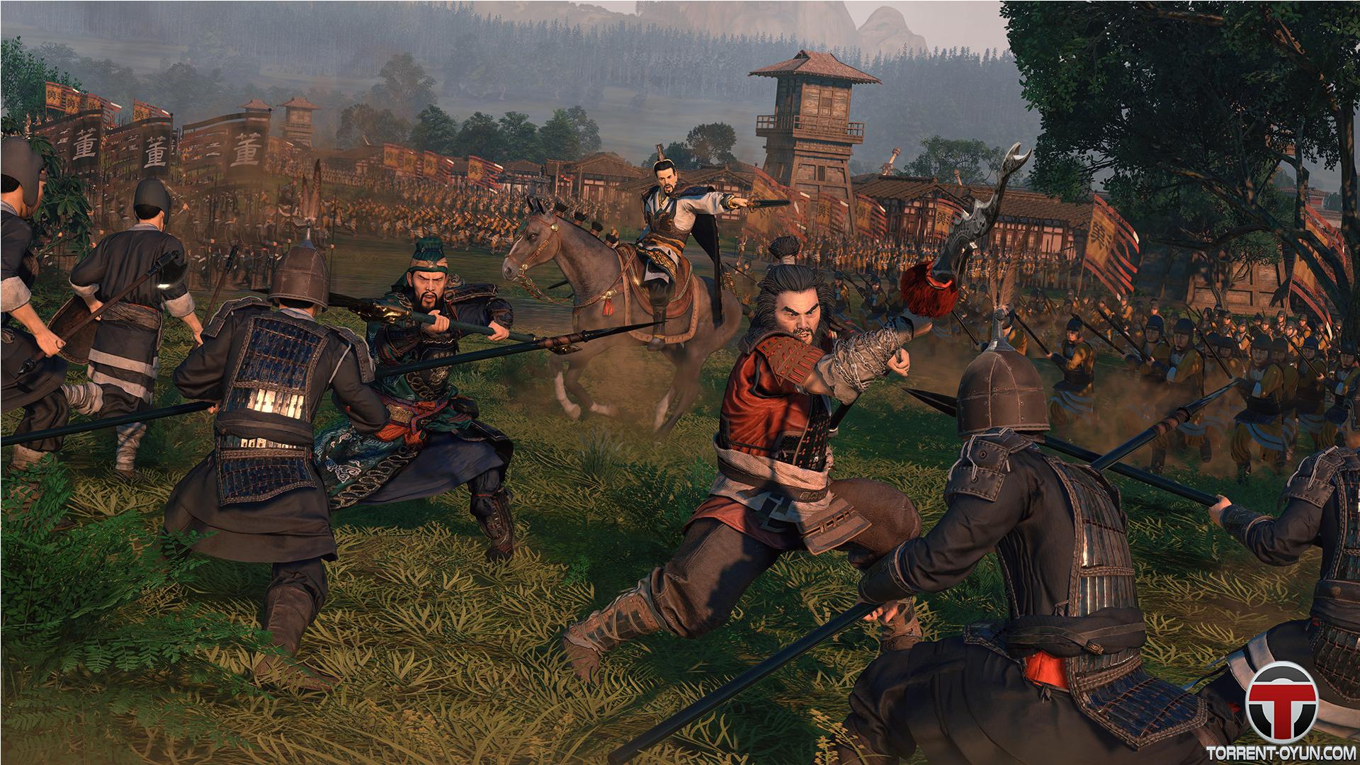 BOPXBj Total War Three Kingdoms Strateji Oyununu Tek Link İndir