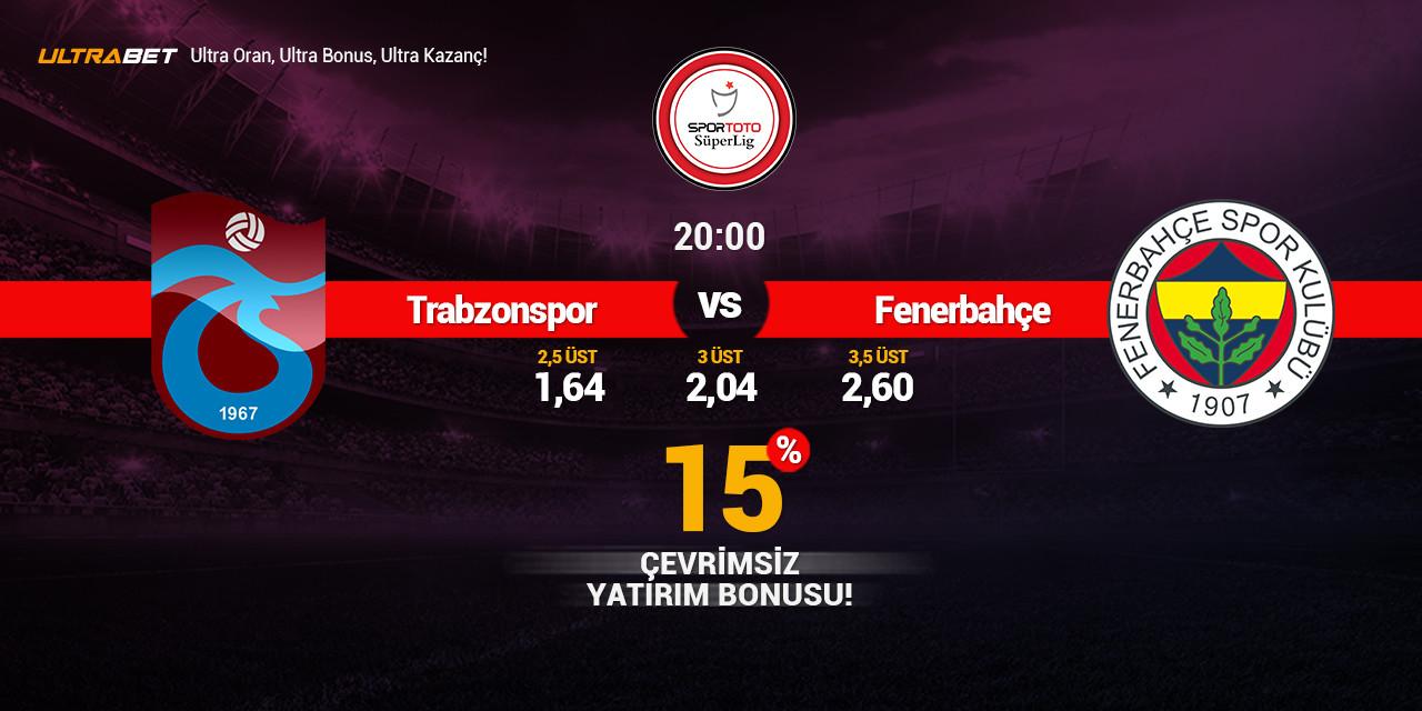 Trabzonspor / Fenerbahçe Canlı Maç İzle